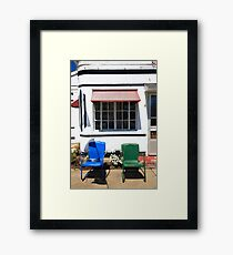 Route 66 - Boots Motel Framed Print