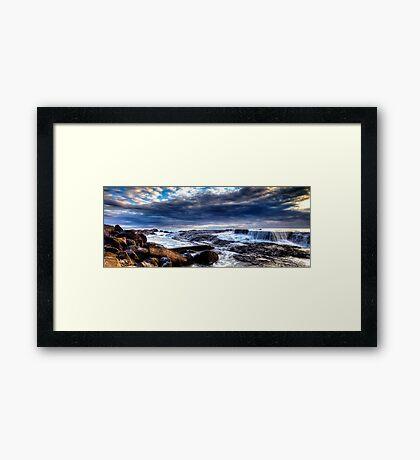 Snapper Rocks Framed Print