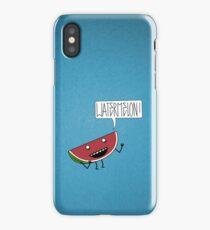 WATERMELON!!!! iPhone Case