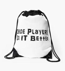 Oboe Drawstring Bag