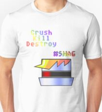 Robot Dash - Crush, Kill, Destroy, #SWAG Unisex T-Shirt