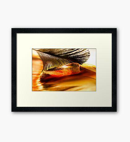 Love's Fire Framed Print