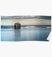 Merewether Ocean Baths - Pump house Poster