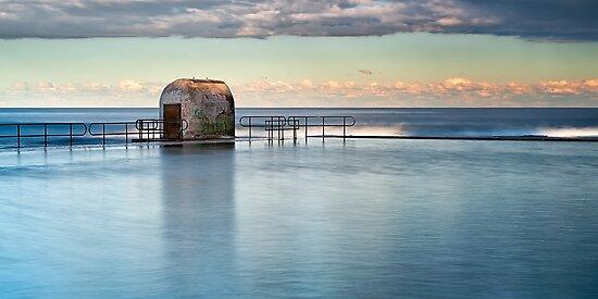 Merewether Ocean Baths - Pump house by Michael Howard