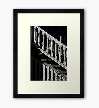 Asending into Another Time Framed Print