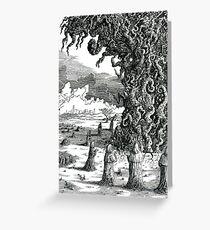 Fukushima Conjuration Greeting Card