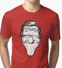 Vintage Dick Van Dyke Caricature Tri-blend T-Shirt