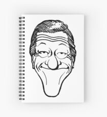 Vintage Dick Van Dyke Caricature Spiral Notebook