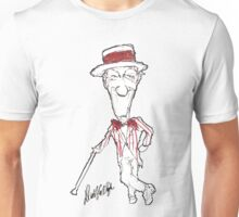 Official Dick Van Dyke Jolly Holiday Sketch Unisex T-Shirt