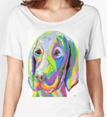 WEIMARANER Women's Relaxed Fit T-Shirt
