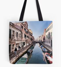 Via Garibaldi, Venice Tote Bag