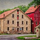The Prallsville Mill Complex # 2 by Debra Fedchin
