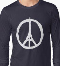 Peace for Paris - white - paix pour Paris - Pray T-Shirt