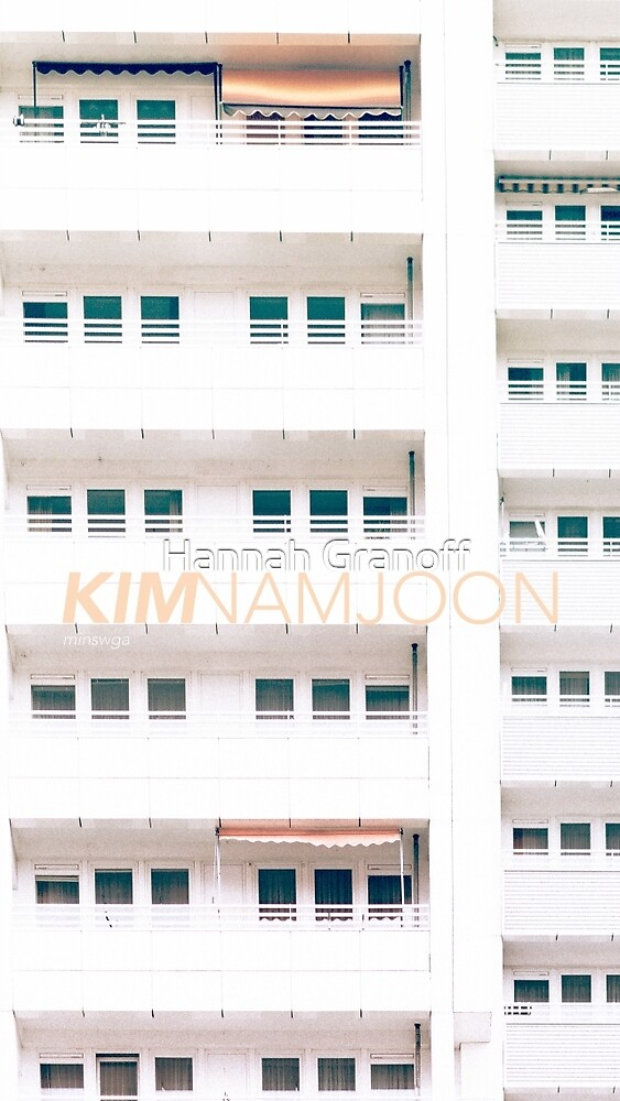 who is kim namjoon? by Hannah Granoff