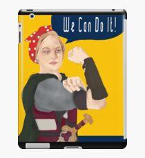 Feminist Icon; Eowyn The Riveter iPad Case/Skin