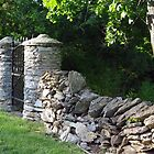 Stone Fence by Karen Checca