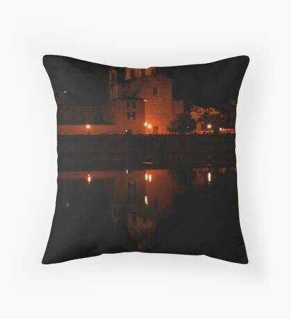 Night in Florence Throw Pillow