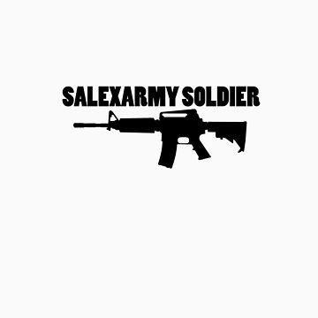 the tee - SalexArmy by dewiasma