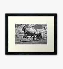 One Horse Power Framed Print