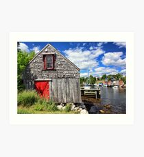 Herring Cove, Nova Scotia Art Print