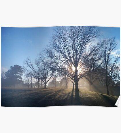 Breaking Fog Poster