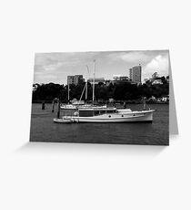 Bay Cruiser Greeting Card