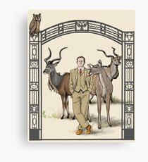 Zookeeper Mycroft Canvas Print