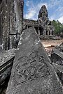 Bayon, Cambodia by Michael Treloar