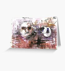 50 to the head Greeting Card
