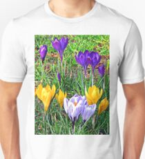 Crocuses Unisex T-Shirt