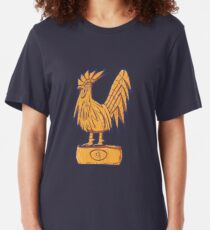 Guitiki - Rooster Slim Fit T-Shirt