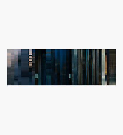 Moviebarcode: To Each His Own Cinema (2007) Segment: Cinéma d'été Photographic Print