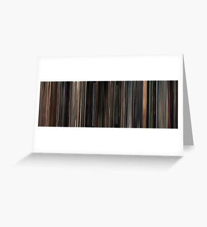 Moviebarcode: A Serbian Film / Srpski film (2010) Greeting Card