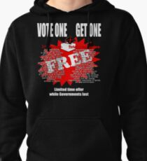 Democracy Pullover Hoodie