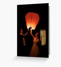 7 ★★★★★ . Dixit Deus: FIAT LUX. Featured in EASTERN EUROPEAN ART .  Light up My Life.  Pouts, Poses & Portraits . Greeting Card