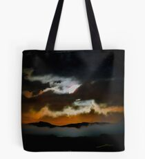 The Moon Is Out Tonight Tote Bag
