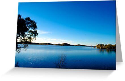Blue sky mine by Luke Dart