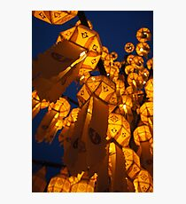 Lanterns of Asia Photographic Print