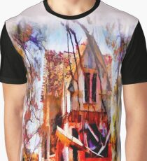 Homeless Old House Graphic T-Shirt