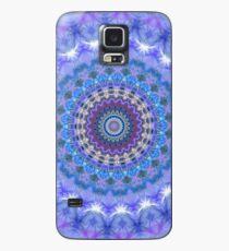 Blue Kaleidoscope Mandala iPhone case Case/Skin for Samsung Galaxy