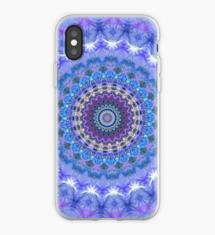 Blue Kaleidoscope Mandala iPhone case iPhone Case