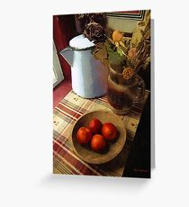 Farmhouse Fruit and Flowers Greeting Card