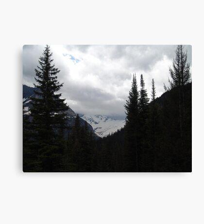 GLACIER THROUGH A FRAME Canvas Print