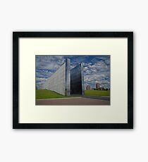 """Empty Sky"" Framed Print"