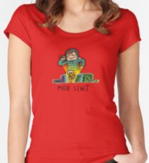 Mob Lewt Women's Fitted Scoop T-Shirt