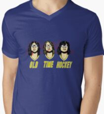 Old Time Hockey Men's V-Neck T-Shirt