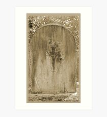 Old Grave site Art Print
