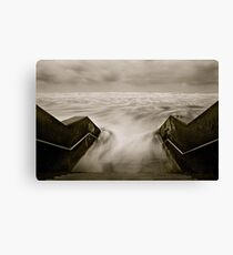 Tidal rush. Canvas Print