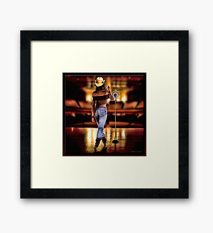 The Opry Framed Print