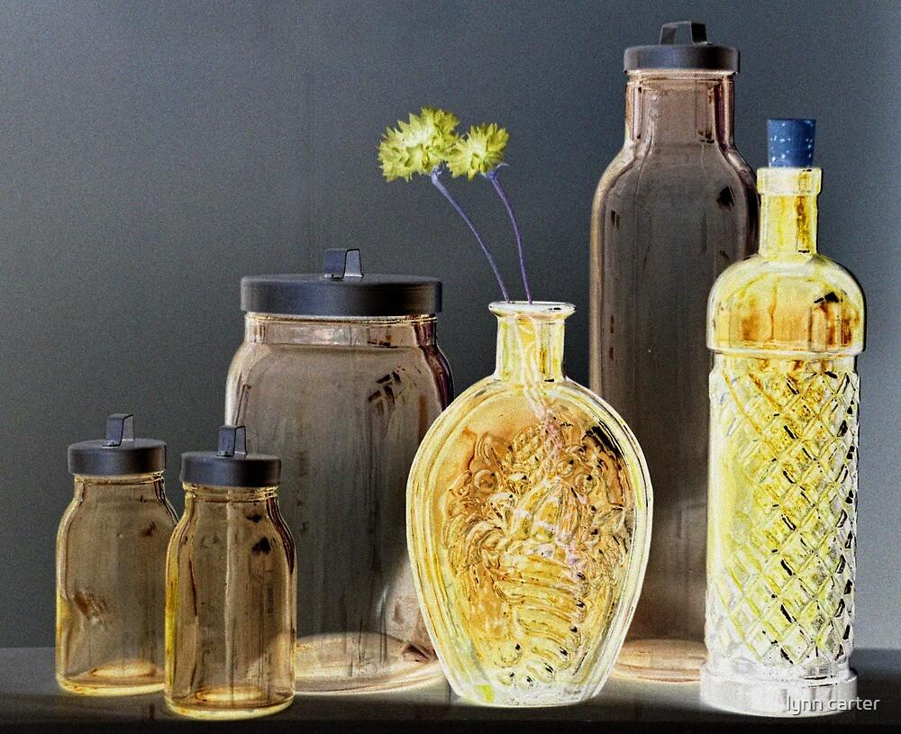 Six Bottles by lynn carter